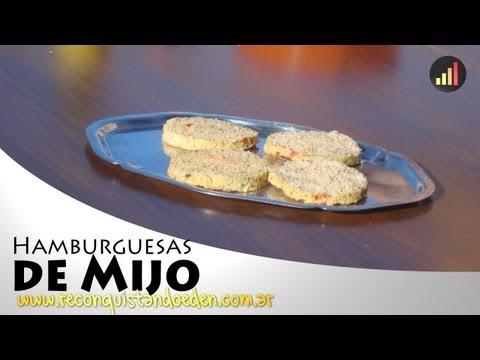 Hamburguesas de Mijo